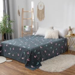 (总)橡果家纺 2019新款舒适纯棉全棉单品床单