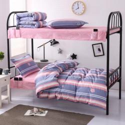 (总)学生派 新款全棉13372学生三件套新型床笠式床单