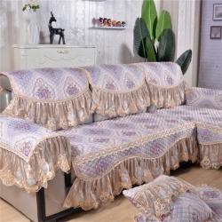 (总)庭笙家纺 四季仿麻沙发垫