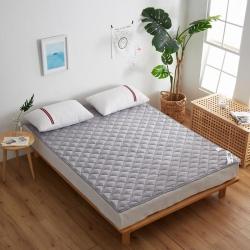 爱喔家纺 水洗棉防滑床垫床褥可机洗防滑床护垫