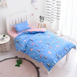 萌哆家纺 13372专版AB版儿童三件套多件套 海洋之梦-蓝