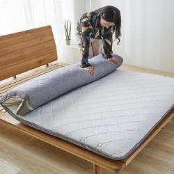 美真床垫 2018新款针织透气双面床垫 灰色