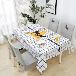 (总)品悦家纺 棉麻防水北欧餐桌布