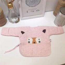 凯芙兰 初生婴儿和尚服新生儿空气层半背衣纯棉宝宝秋衣上衣
