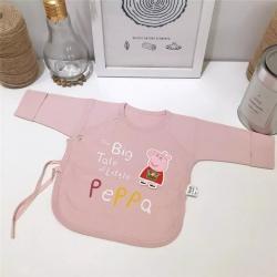 凯芙兰 新生儿和尚服纯棉上衣秋衣初生半背衣婴儿棉衣服