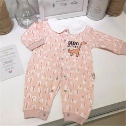 (总)凯芙兰 婴儿衣服精梳棉宝宝连体新生儿哈衣爬服