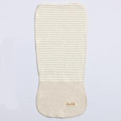 宝宝纯棉吸汗巾婴儿童隔汗巾垫背巾彩棉幼儿园0-6岁加大码