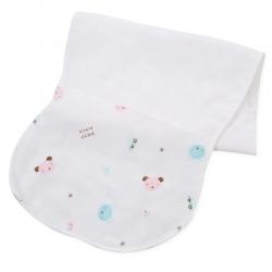儿童隔汗巾纱布宝宝吸汗巾0-3岁垫背巾中大童4-6岁幼儿园