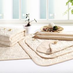 麦吻 婴儿彩棉隔尿垫用品防水可洗床垫新生儿纯棉透气月经垫