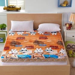 艾尚枕芯 法莱绒立体床垫哒哒兔