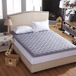 艾尚枕芯 加厚素色床垫加厚灰色
