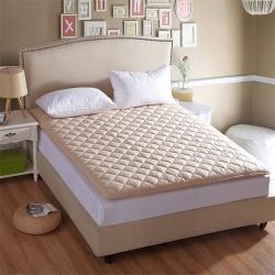 艾尚枕芯 加厚素色床垫加厚驼色