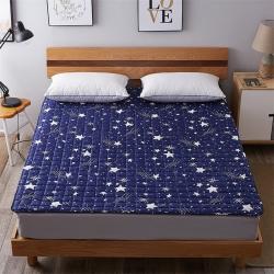 艾尚枕芯 磨毛水洗床垫_2.5cm厚繁星点点