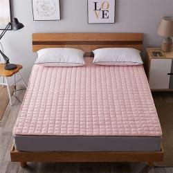 艾尚枕芯 磨毛水洗床垫_2.5cm厚玉色
