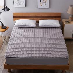 艾尚枕芯 磨毛水洗床垫_2.5cm厚灰色