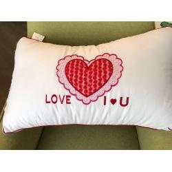 艾尚枕芯 羽丝绒枕芯 甜蜜爱情