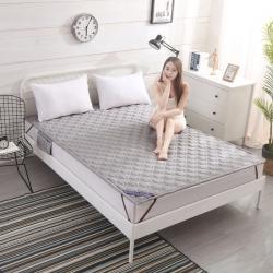 艾尚家居 全棉床垫可水洗银灰色
