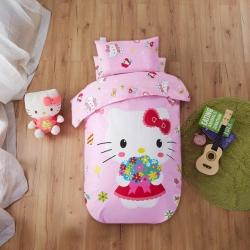 寶萊屋家紡 幼兒園套件 幼兒園被子三件套七件套 粉色KT