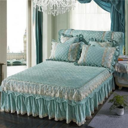 (总)好儿喜家纺 维也纳系列水晶绒单品床裙