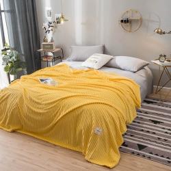 (总)彩烨家纺毛毯空调毯车用家用牛奶绒雪花绒法莱绒多用毯