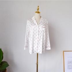 Rachel Home 2018新款白色爱心睡衣