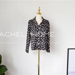 Rachel Home 2018新款黑色爱心睡衣