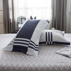 (總)安逸家紡 全棉枕套一對48x74cm純棉枕套