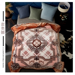素堇 毛毯-双层云毯系列  蕾奥娜