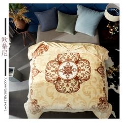 素堇 毛毯-双层云毯系列  欧蒂尼