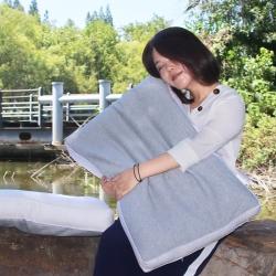 2018新品全棉纯棉枕芯枕头护颈枕学生枕立体绗缝枕单面荞麦枕