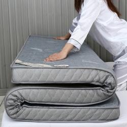 棕康垫业 2019新款针织乳胶床垫 羽毛灰