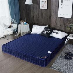 攸选 2019新款立体老款针织棉床垫 厚度6cm 蓝色