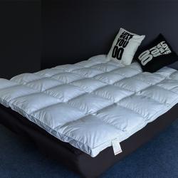 聚阁羽绒馆 韩版床垫 白色