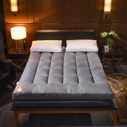 小胖妞 羽绒丝立体床垫 灰色