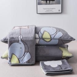 250克牛奶絨枕套法萊絨枕套金貂絨枕套雪花絨枕套水晶絨枕套