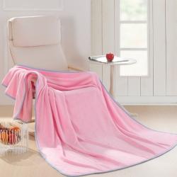 清仓 超柔天丝纯色毛毯(夏天做夏被,冬天可当床单)