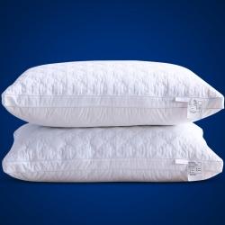 清仓 南极人同款全棉绗缝立体羽丝绒枕芯