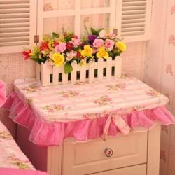 库存 全棉13372床头柜罩子防尘罩