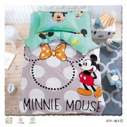 伊丝贝尼 卡通全棉三件套(圆角床单)迪士尼