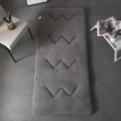 天艺床垫 彩色羊羔绒学生款 灰色