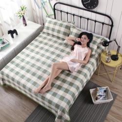 安心月 2018新款安心月多功能行缝床盖三件套 格调生活-绿