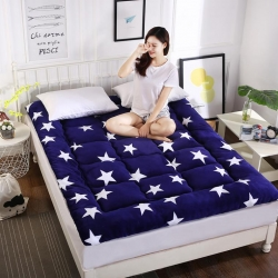 富百世 加厚床垫床褥床双人褥子学生宿舍海绵床垫垫被 五角星