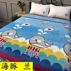 (總)小米家 2019新款水晶絨系列夾棉床蓋2.5米