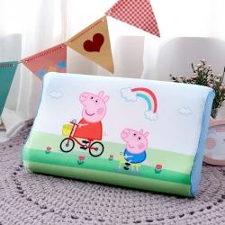 (总)吉咪兔 大版卡通冰丝乳胶枕头