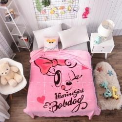 童年 法莱绒双面毛毯-萌萌哒