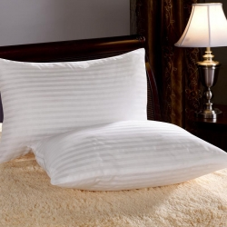 仁宇枕業特價贈品枕芯交織棉枕芯禮品枕芯白條枕頭