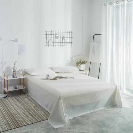 (总)欧麦家家纺 2019新款单品纯色床单