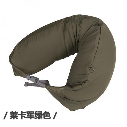 欧麦家家纺 新款护颈枕 莱卡绿色