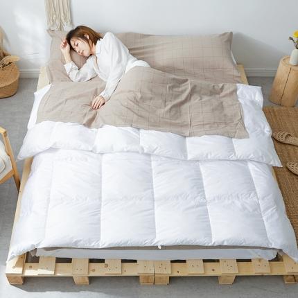 (总)欧麦家家纺 2019新款全棉色织水洗棉旅行睡袋