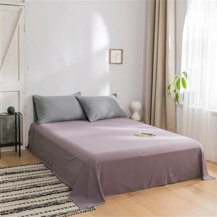 (总)欧麦家 2019针织天竺棉纯色单床单